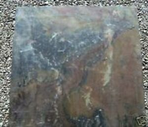 """Slate tile concrete plaster stepping stone mold mould..16"""" x 16"""" x 1"""" thick"""