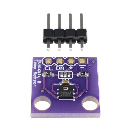 I2C IIC Temperature/&Humidity Sensor GY-213V-HTU21D Replace SHT21 SI7021 HDC1080