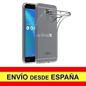 Funda-Silicona-para-ASUS-ZENFONE-3-MAX-5-5-034-Carcasa-Transparente-Espana-a2581