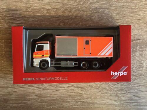 Herpa 094450-1//87 MB Antos cambio caricatrici-Camion Vigili del fuoco volontari Norderstedt