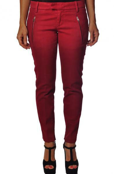 Dondup  -  Pants - Female - Red - 2160108A184510