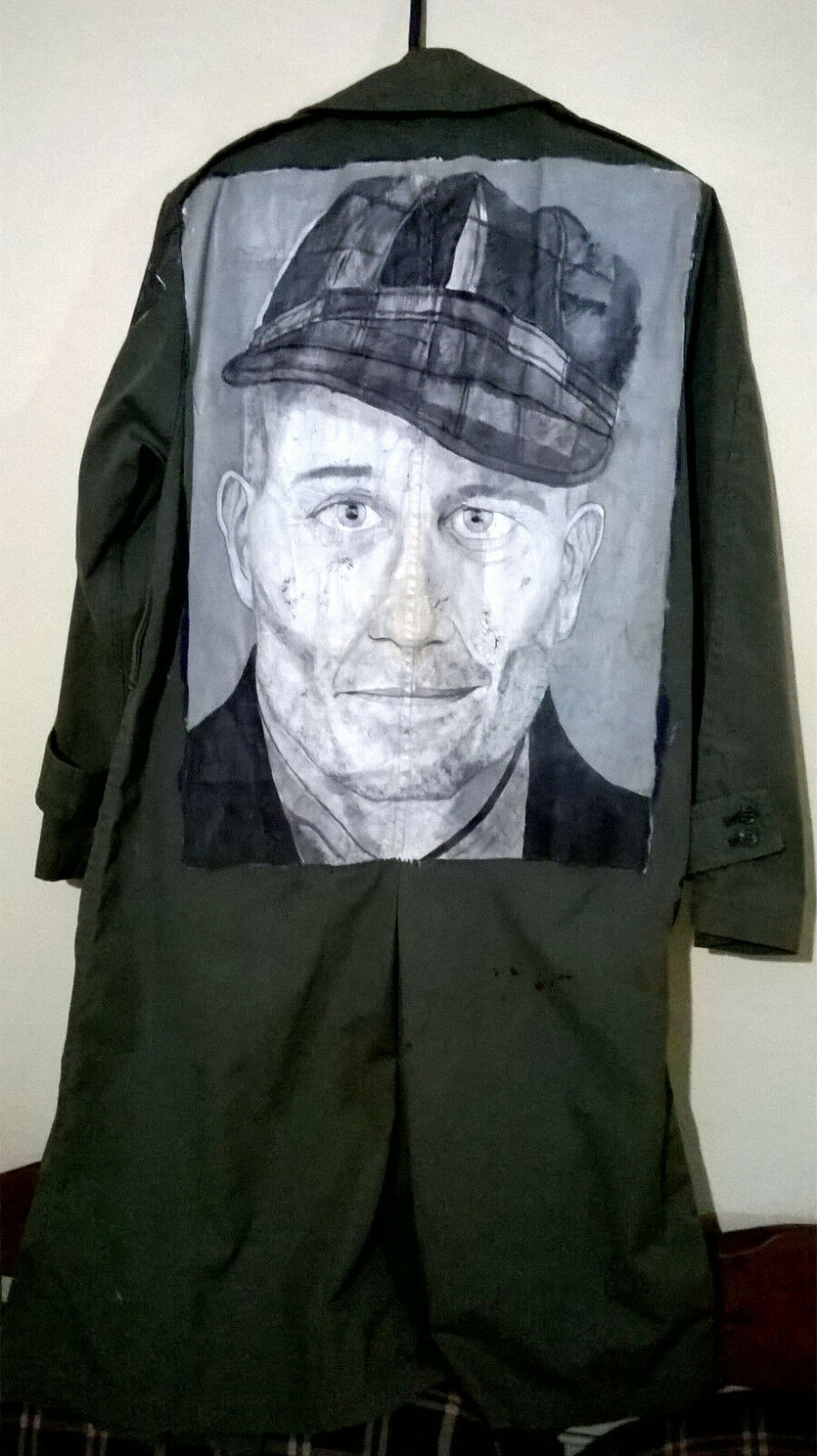 Horror Punk Army Trench Coat True Crime Ed Gein Ghoul Cannibal Misfits Macabre
