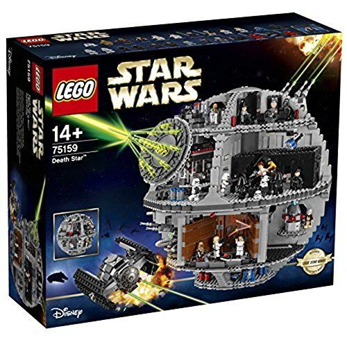 75159 LEGO STAR WARS DEATH STAR MORTE NERA 4016 PEZZI +14 ANNI NUOVO SIGILLATO
