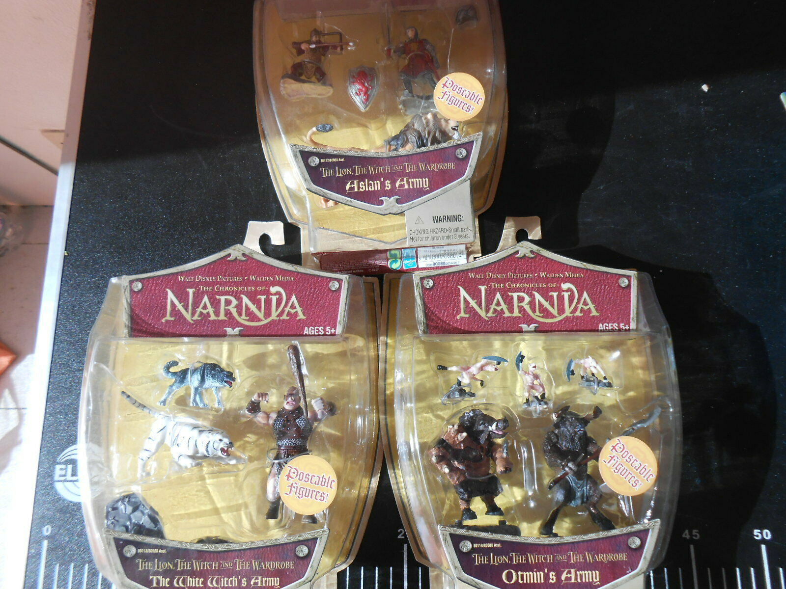 CHRONICLES OF NARNIA Poseable Figures Lion Witch Wardrobe Armies Army