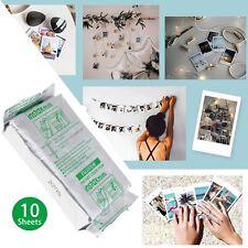10Sheets Fujifilm Instax Mini Instant Color Films for Fuji 8 /7s/50s/25/90/70/30
