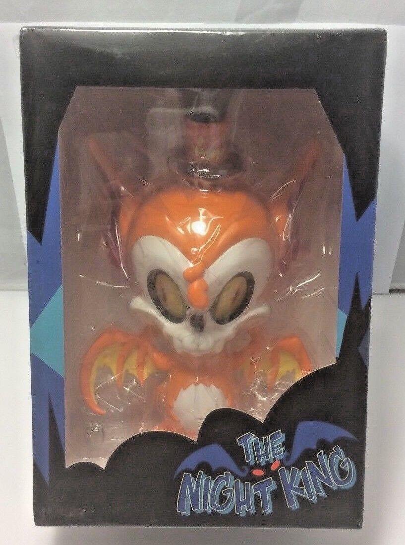Cardboard Spaceship Candycorn Night King Orange Brandt Peters Vinyl Figure LE265