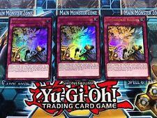 3 x Dimensional Barrier  DUDE-EN048  Ultra Rare  YuGiOh Cards