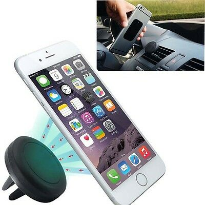 Car Magnetic Air Vent Mount Holder Stand For Mobile Phone iPhone 6 5 5s Samsung
