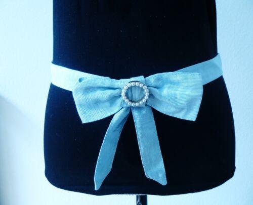 NEW size large gap belt sash bow in light green or light blue