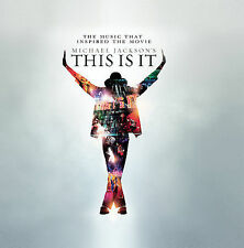 Michael Jackson This Is It 2CDs 2009 Sony Souvenir Edition Stickers on Front NEW