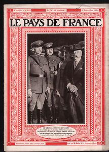 WWI-Portrait-General-Pershing-Gare-des-Invalides-Paris-France-1919-ILLUSTRATION