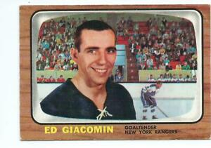 Hockey-card-1966-67-Ed-Giacomin-Goaltender-New-York-rangers-Topps-23