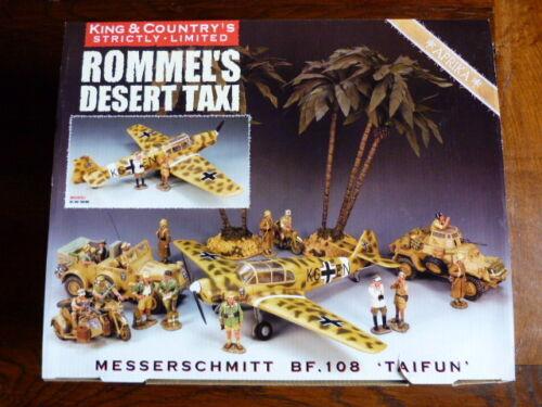 King & Country - Corps Africain De Taxi Rommel Messerschmitt Bf.108 500 Copies