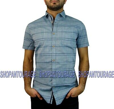 English Heroes by Rock Roll n Soul EHW117B L//S Button Down Woven Shirt for Men