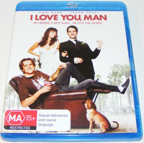 1 of 1 - I LOVE YOU MAN---(Blu-Ray)