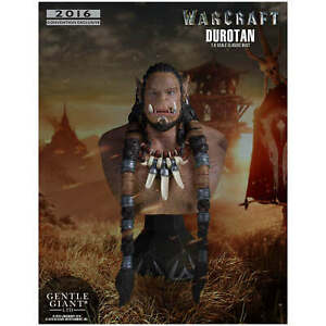 World-of-Warcraft-Buste-Durotan-Classic-Gentle-Giant-Neuf-Limite-numerote