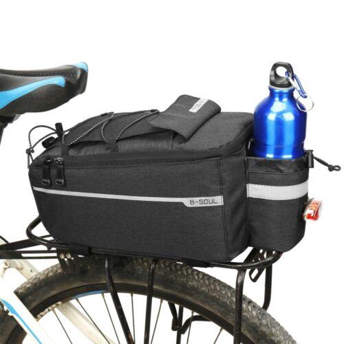 Bicycle MTB Bike Rear Seat Rack Storage Trunk Bag Pouch Cycling Handbag Pannier