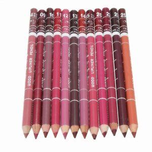 BAIXUEGONGZHU-12-Farben-Professionelle-Lipliner-Wasserdichte-Lip-Liner-Lippen-VP