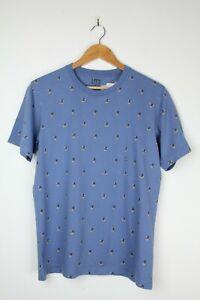 MICKEY MOUSE X UNIQLO T-Shirt - Sz M Blue Mens Unisex NWT Japan Minnie Womens