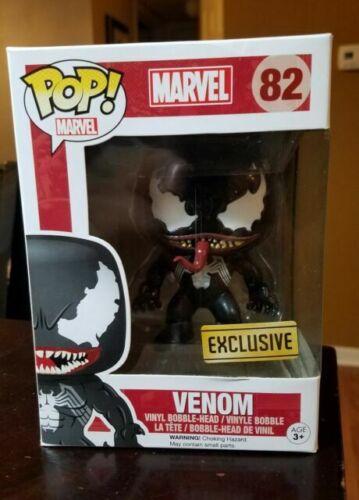 10cm Funko Pop # 82 Venom Marvel Walgreens Exclusive Vinyl Action Figure