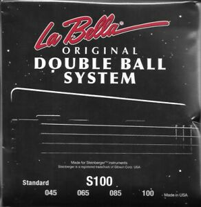 Labella-Double-Ball-End-Steinberger-Bass-Strings-4-amp-5-String-Sets-In-Stock