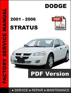 dodge stratus 1995 2006 workshop service repair manual
