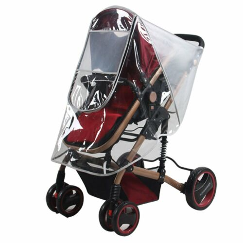 Weather Shield Baby Stroller Rain Cover Canopy Standard Stroller Universal Size
