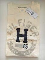 Men's Tommy Hilfiger Graphic T-shirt Off White Medium-large