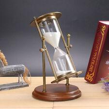 15 minutes Rotating Sand Hourglass Sandglass Sand Timer Clock Gift Ornament