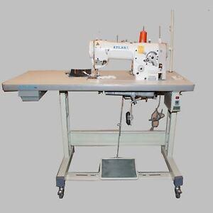 Yamata 457U135L 3-Step Zig Zag  Industrial Sewing Machine motor Table Singer