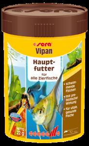 Sera-Vipan-100ml-Hauptfutter-fuer-alle-Zierfische-Flockenfutter-Aquarium