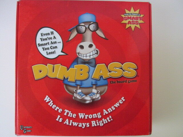 NEW  2013 Dumb Ass the Board Game by University Games