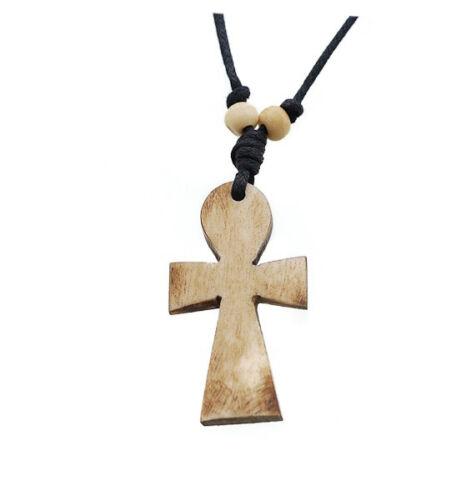 Collier pendentif croix de vie ankh Peterandclo  A 71B