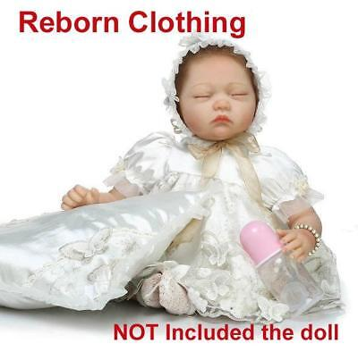 "Reborn Clothing Reborn Doll Baby Girl Clothes Outfit NOT Included Doll 20-22/"" us"