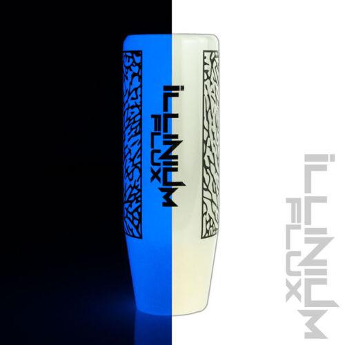 ILLINIUM FLUX BLUE GLOW IN THE DARK ELEPHANT DRIFT MANUAL SHIFT KNOB 10X1.5 K62