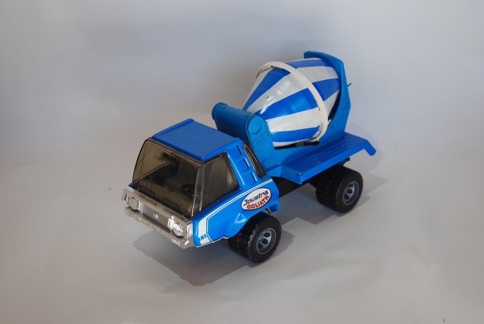 Joustra Goliath T15 Camión Bicone Cemento Azul Vintage