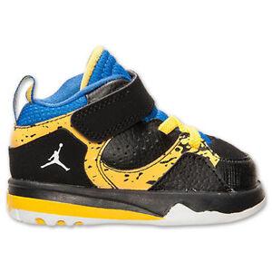 555cfc8d779fe2 Nike Jordan Toddler TD baby shoes Retro 6 Ring phase mid flex Black ...