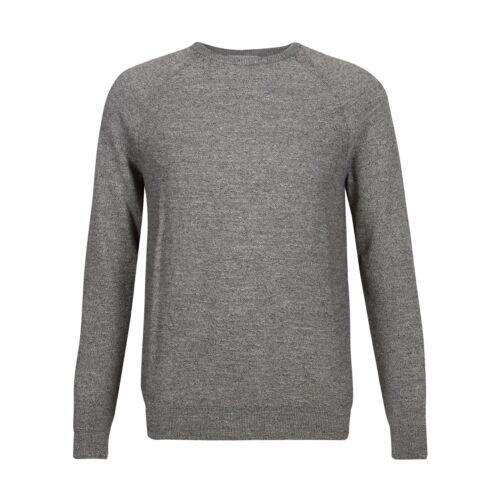 Marks /& Spencer Mens Pure Cotton Slub Crew Neck Jumper New M/&S Casual Sweater