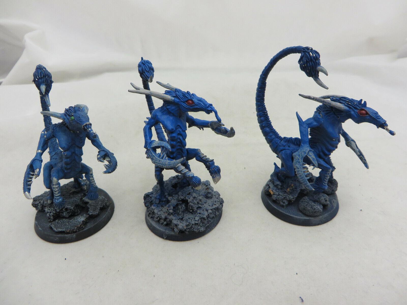 Warhammer 40K Chaos démon Demon maniaques de boîtes armée Lot METAL Épuisé peint