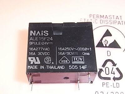 ALE15F24 Relais Relay Coil Voltage 24V 16A 250V NAIS Panasonic