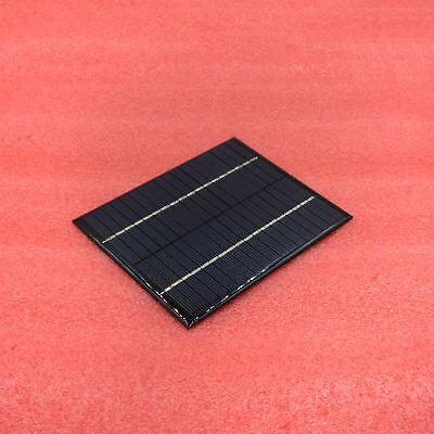 Portable 2W 18V 13.6X11X0.3cm 300MA Polycrystalline Solar Battery panel charger