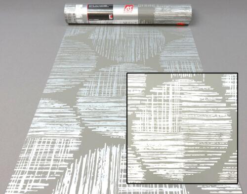 Vliestapete 30550-1 AS Creation Tapete Grafik Kreise grau metallic 305501 AH AL