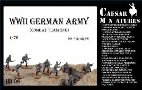 Infanterie Allemande WW2 1/72 Caesar