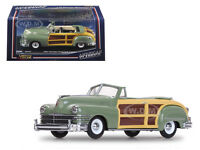 1947 Chrysler Town And Country Heather Green 1/43 Diecast Model By Vitesse 36221