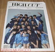 HIGH CUT VOL.146 GIRLS' GENERATION YURI KARA GU HARA KOREA MAGAZINE TABLOID NEW