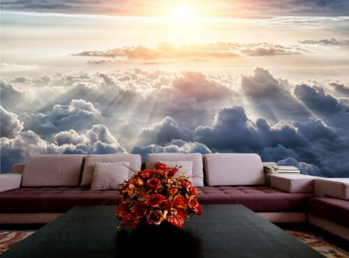 Blue Sky  Wall Mural Photo Wallpaper GIANT WALL DECOR Free Paste