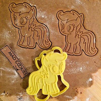 Scootaloo Cookie Cutter My Little Pony fondant mold 3d printed cookiecutter