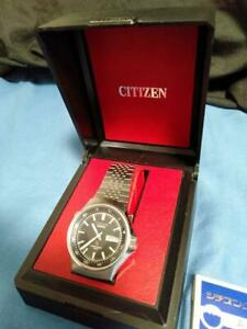 Citizen-Vintage-Day-Date-Stainless-Steel-Quartz-Mens-Watch-Authentic-Working