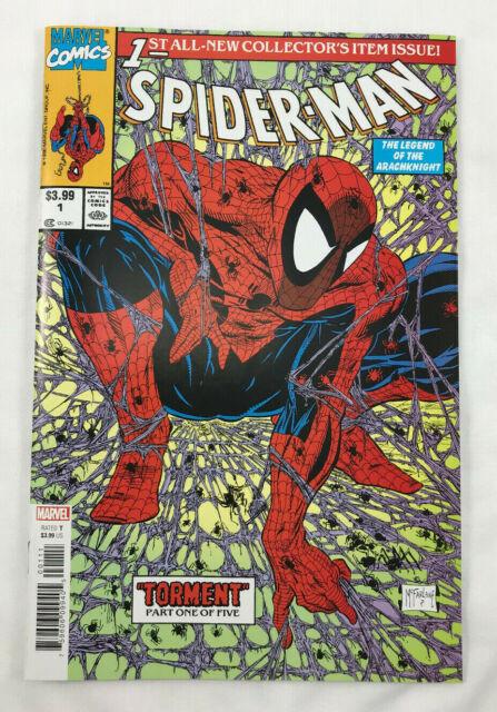 Spider-Man #1 Facsimile Edition Marvel Comic 2020 Reprint McFarlane Cover