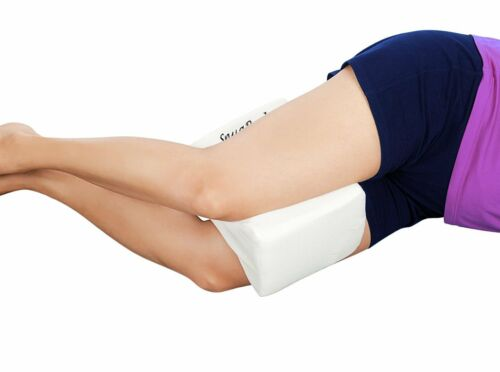 SnugPad Coccyx Orthopedic Memory Foam Knee Leg Pillow Pad with Washable Cover